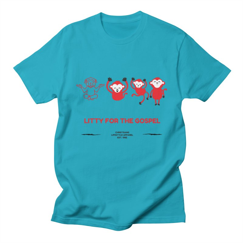 Litty For The Gospel Men's T-Shirt by ChristGang Apparel