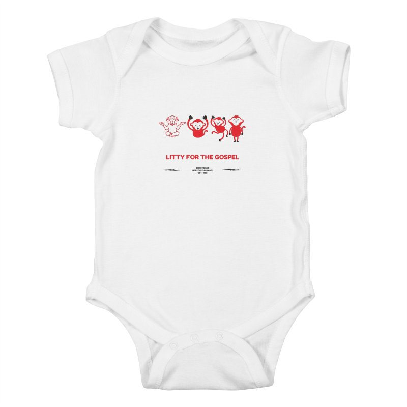 Litty For The Gospel Kids Baby Bodysuit by ChristGang Apparel