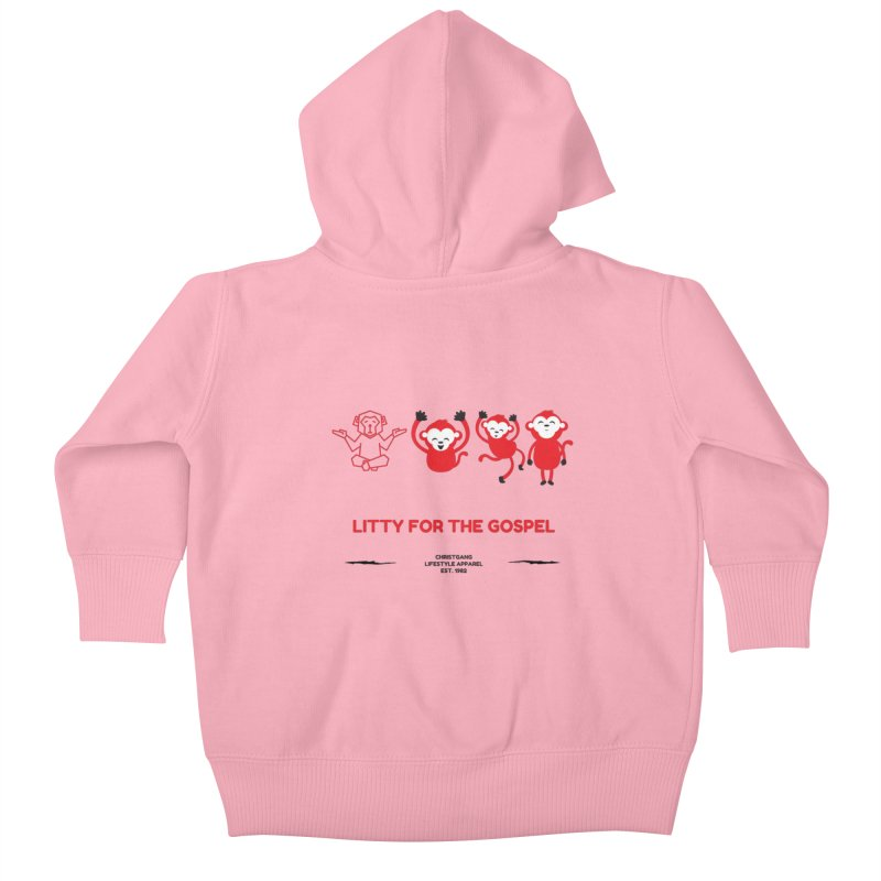 Litty For The Gospel Kids Baby Zip-Up Hoody by ChristGang Apparel