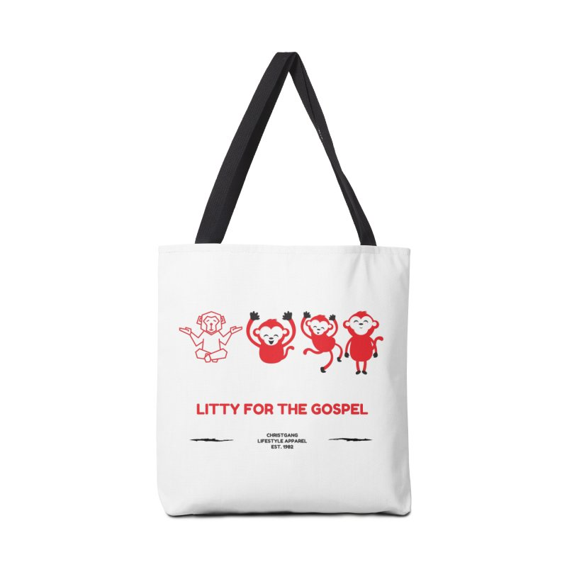 Litty For The Gospel Accessories Bag by ChristGang Apparel