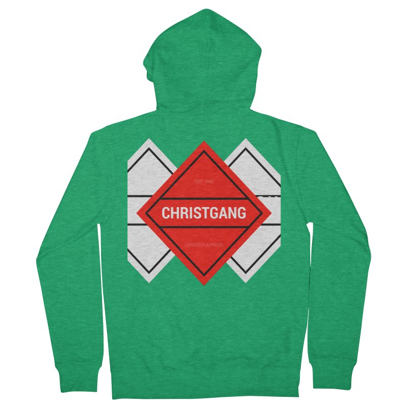 ChristGang Diamond Men's Zip-Up Hoody by ChristGang Apparel