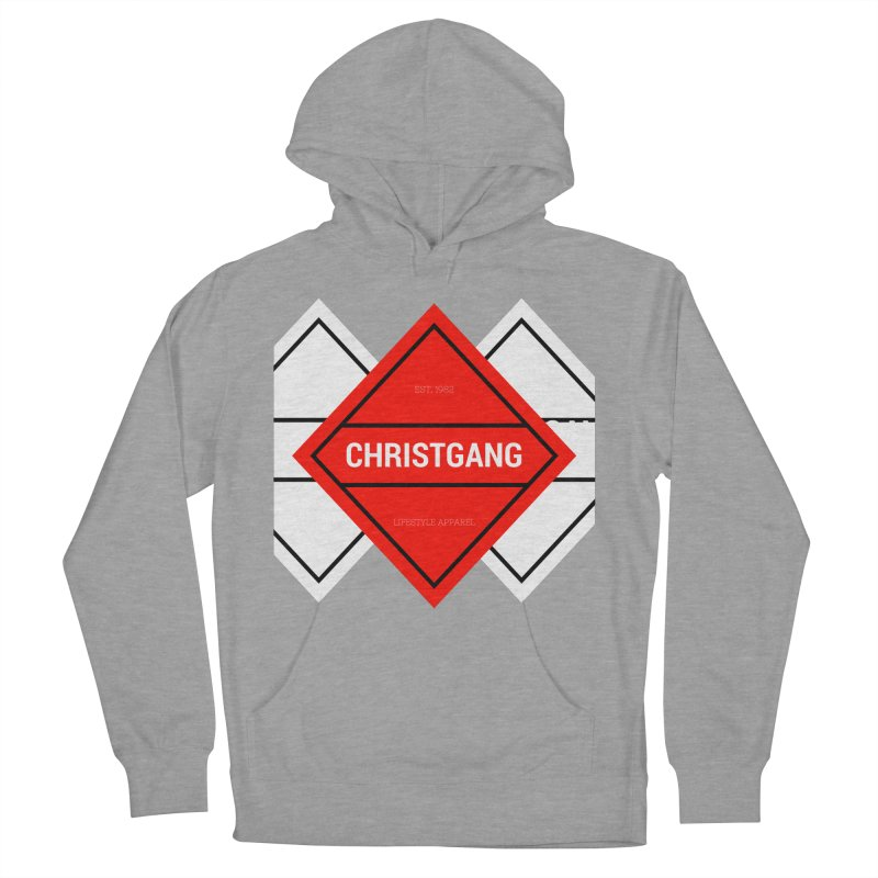 ChristGang Diamond Women's French Terry Pullover Hoody by ChristGang Apparel