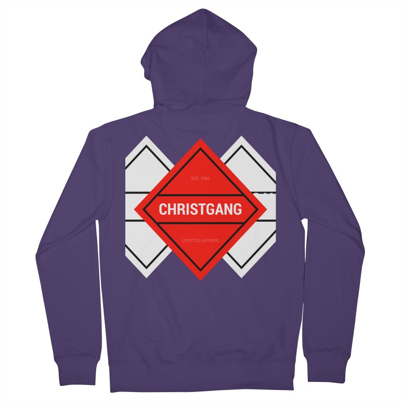 ChristGang Diamond Women's French Terry Zip-Up Hoody by ChristGang Apparel