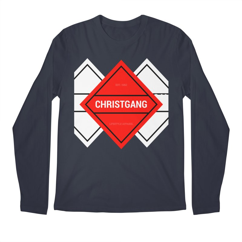 ChristGang Diamond Men's Regular Longsleeve T-Shirt by ChristGang Apparel