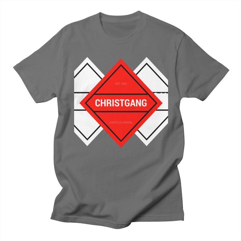 ChristGang Diamond Men's T-Shirt by ChristGang Apparel