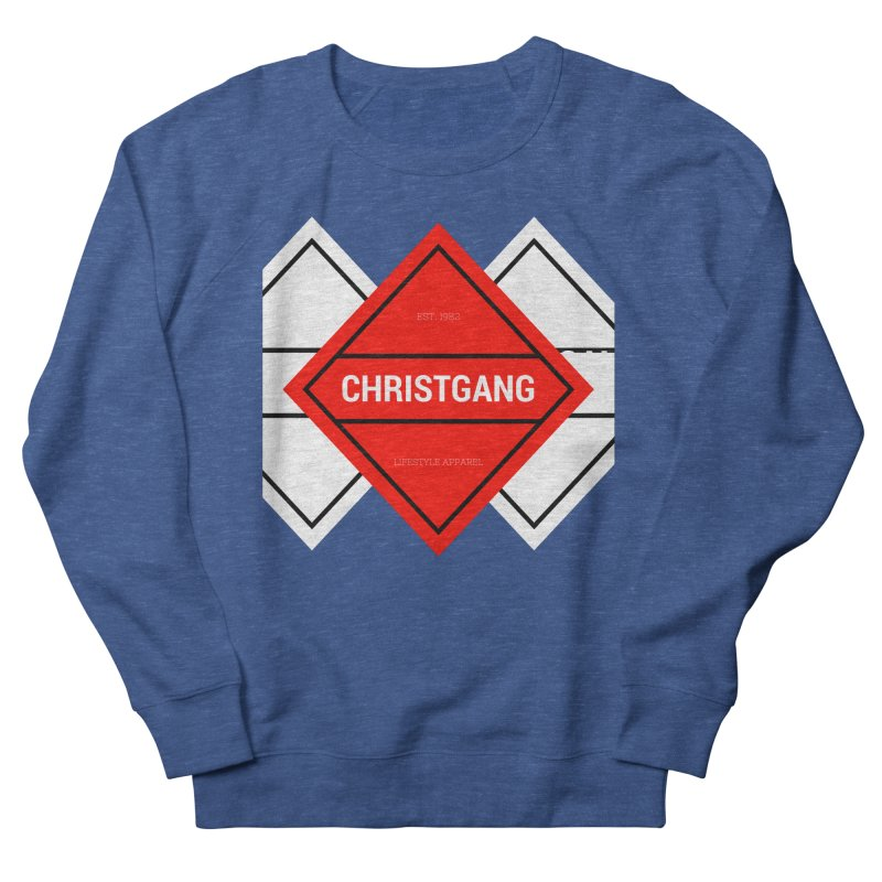 ChristGang Diamond Women's French Terry Sweatshirt by ChristGang Apparel