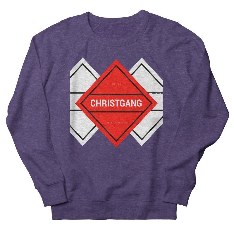 ChristGang Diamond Men's French Terry Sweatshirt by ChristGang Apparel
