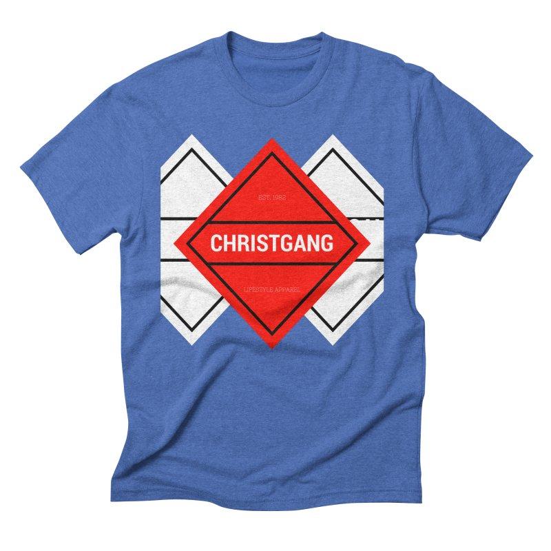 ChristGang Diamond Men's Triblend T-Shirt by ChristGang Apparel