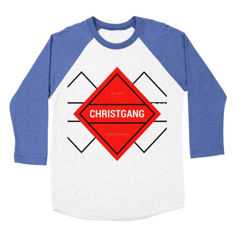 ChristGang Diamond Men's Baseball Triblend Longsleeve T-Shirt by ChristGang Apparel
