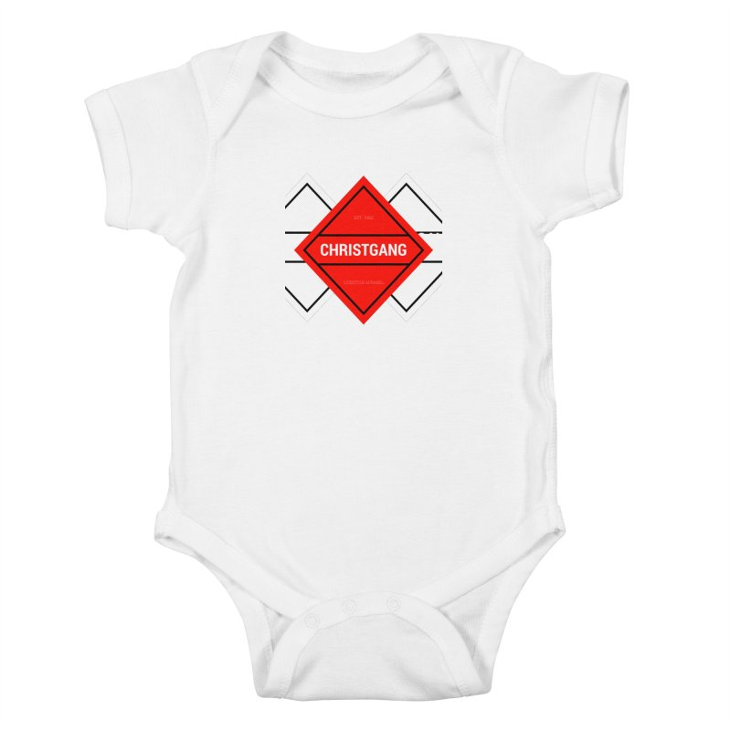 ChristGang Diamond Kids Baby Bodysuit by ChristGang Apparel