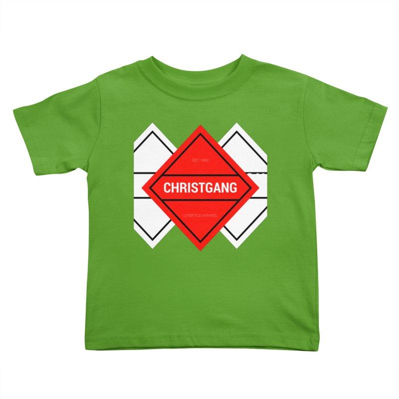 ChristGang Diamond Kids Toddler T-Shirt by ChristGang Apparel