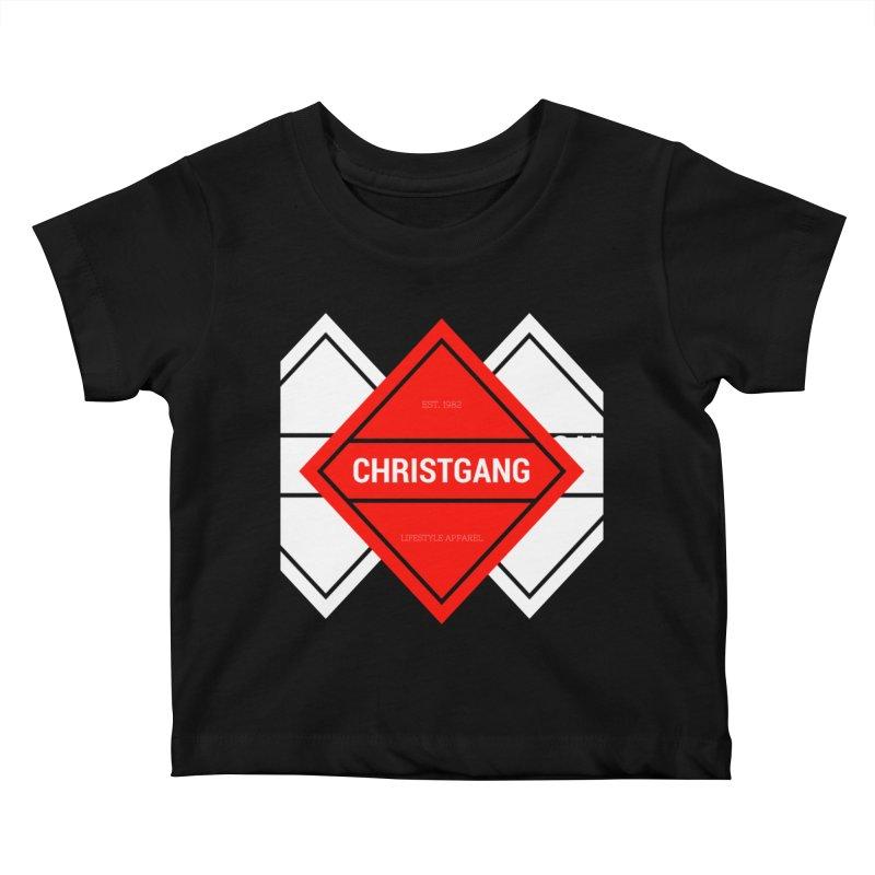 ChristGang Diamond Kids Baby T-Shirt by ChristGang Apparel
