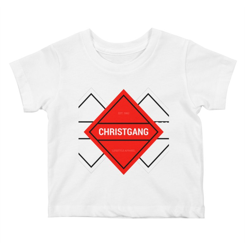 ChristGang Diamond Kids Baby T-Shirt by ChristGang Apparel