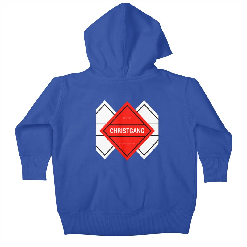 ChristGang Diamond Kids Baby Zip-Up Hoody by ChristGang Apparel