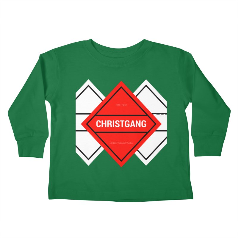 ChristGang Diamond Kids Toddler Longsleeve T-Shirt by ChristGang Apparel