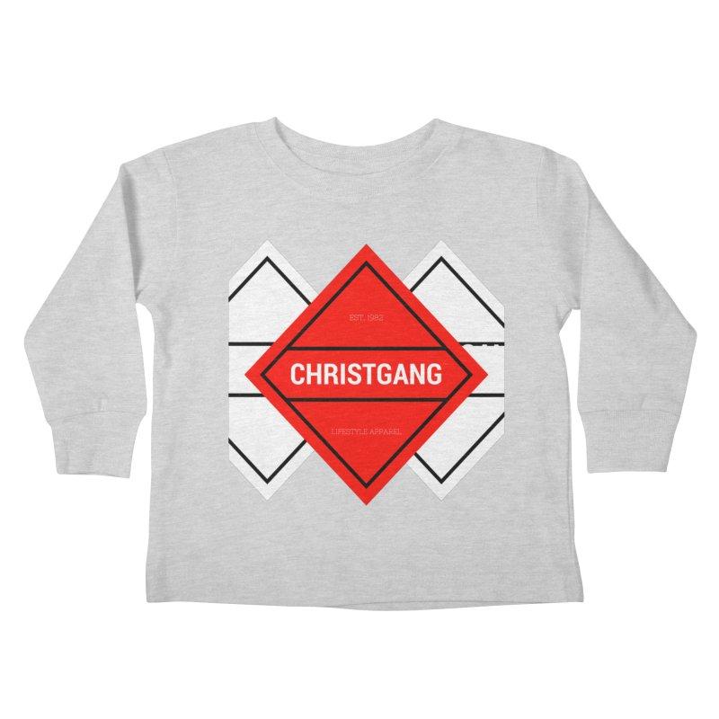 ChristGang Diamond Kids Toddler Longsleeve T-Shirt by ChristGang Apparel