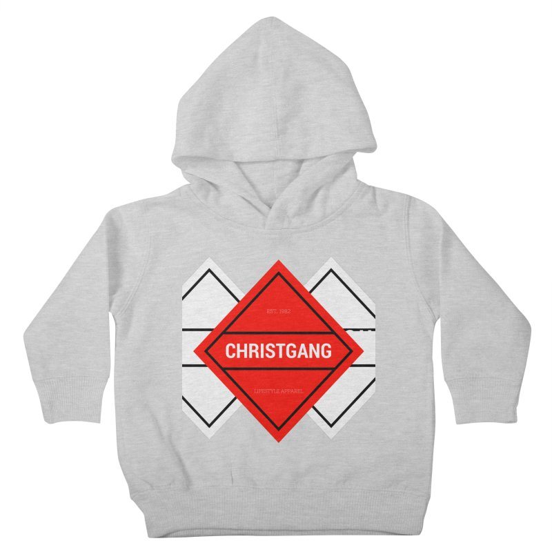 ChristGang Diamond Kids Toddler Pullover Hoody by ChristGang Apparel
