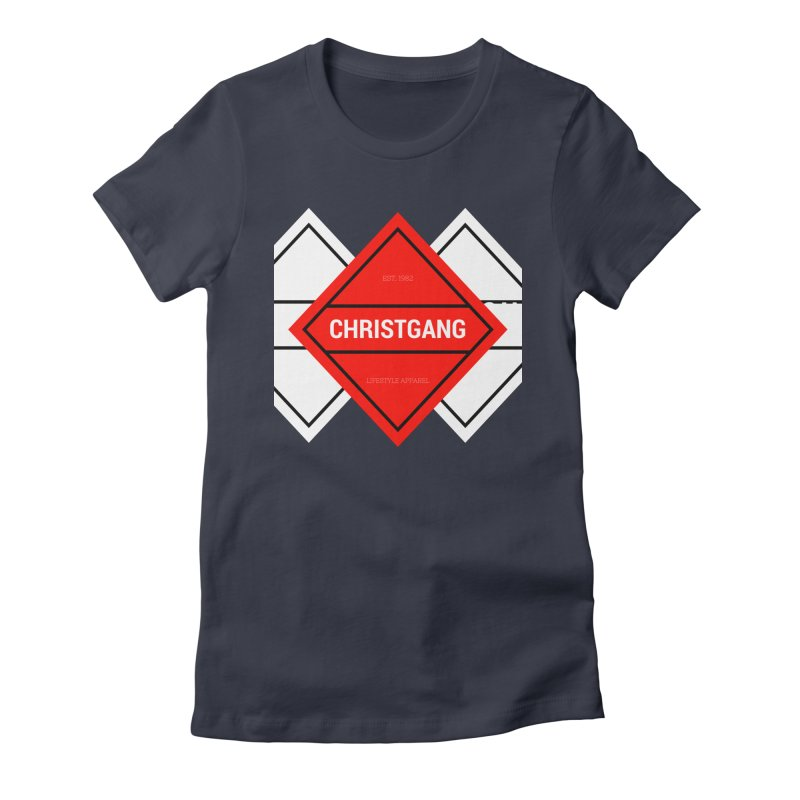 ChristGang Diamond Women's T-Shirt by ChristGang Apparel