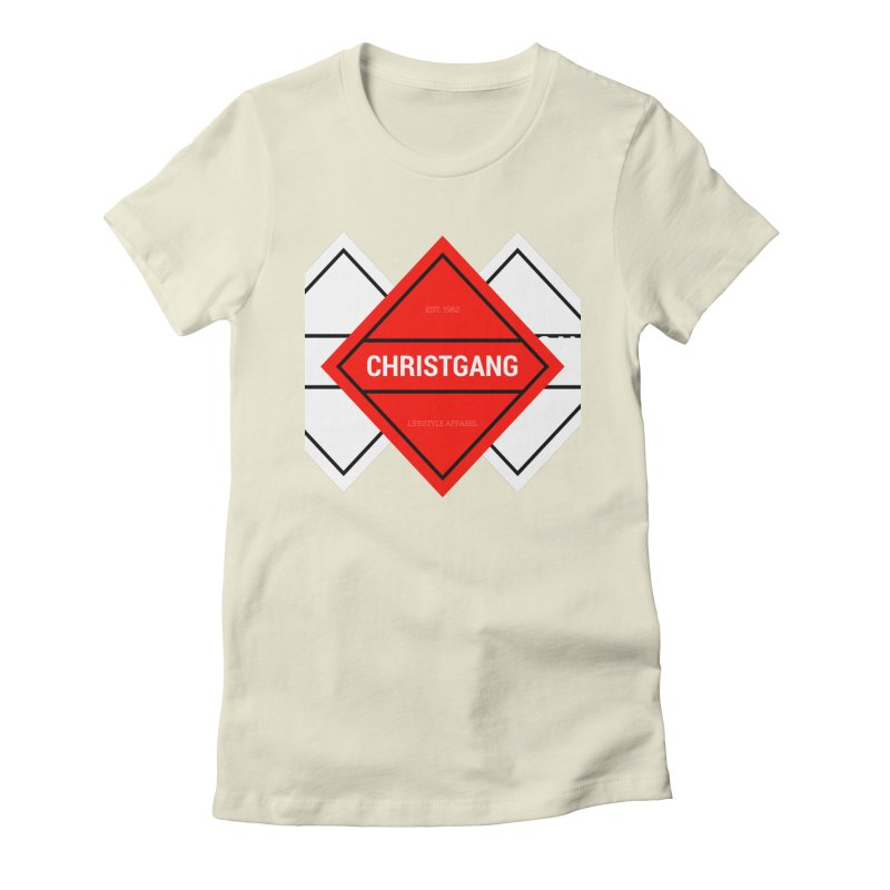 ChristGang Diamond Women's Fitted T-Shirt by ChristGang Apparel