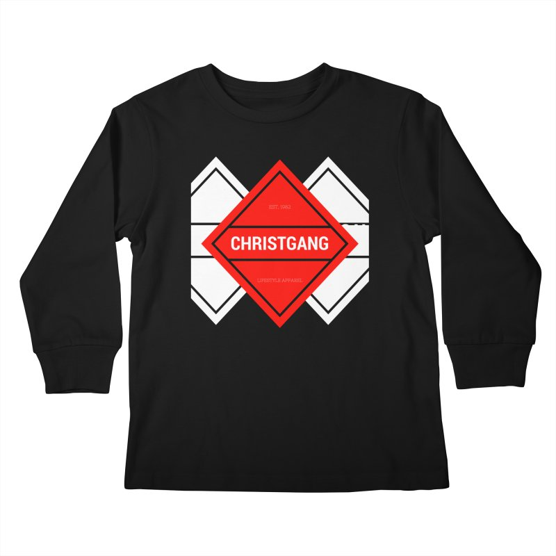 ChristGang Diamond Kids Longsleeve T-Shirt by ChristGang Apparel