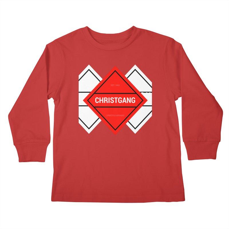 ChristGang Diamond Kids Longsleeve T-Shirt by ChristGang Apparel