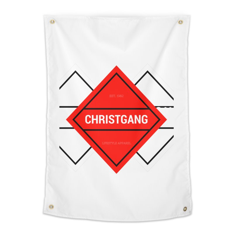 ChristGang Diamond Home Tapestry by ChristGang Apparel