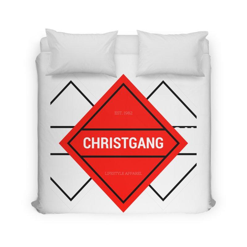 ChristGang Diamond Home Duvet by ChristGang Apparel