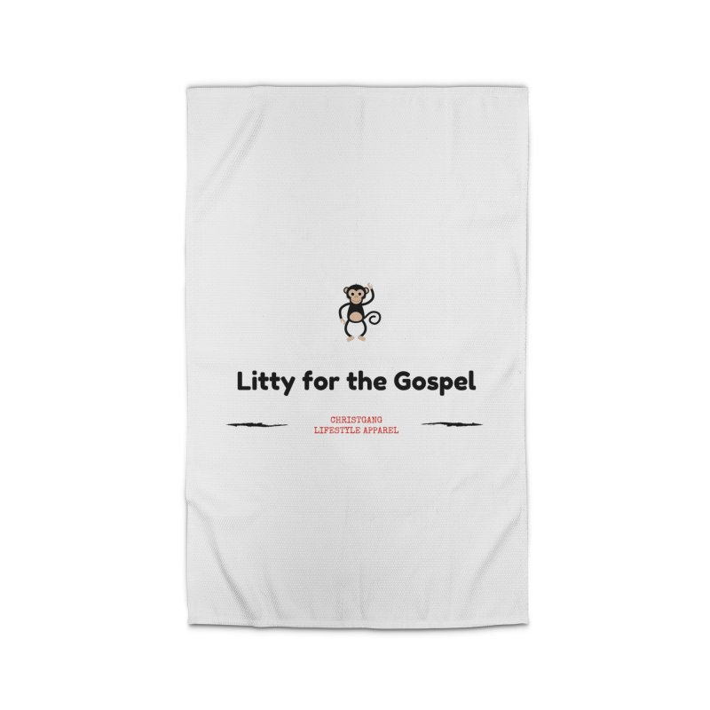 Litty For The Gospel 2 Home Rug by ChristGang Apparel
