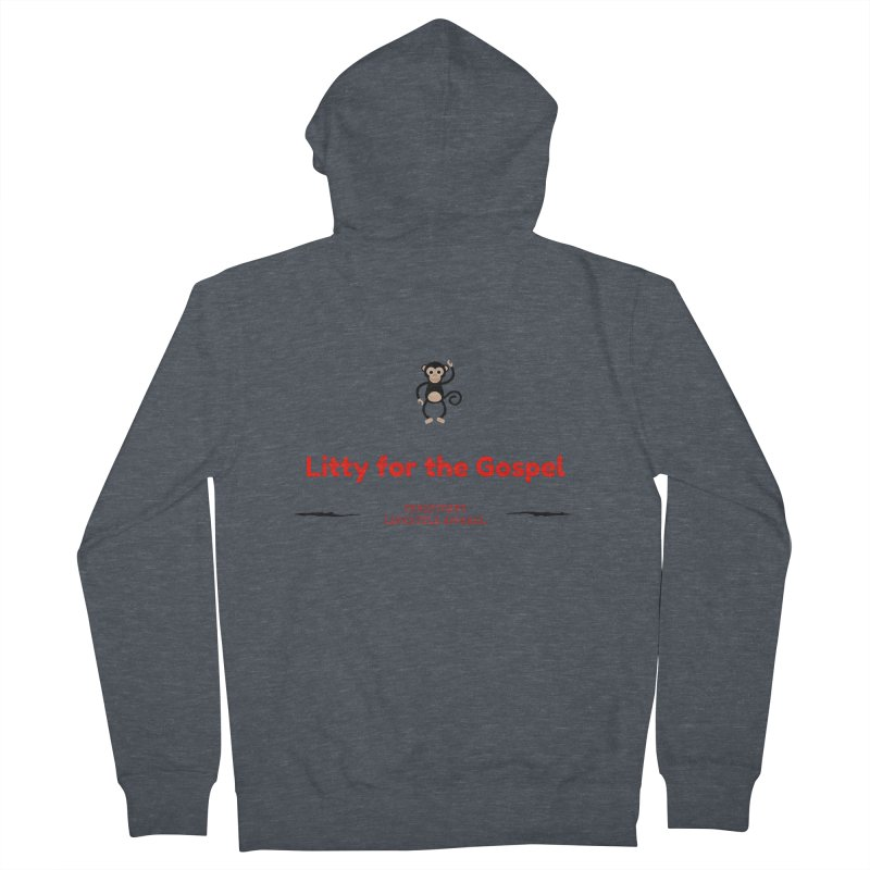 Litty For The Gospel 2 Women's French Terry Zip-Up Hoody by ChristGang Apparel