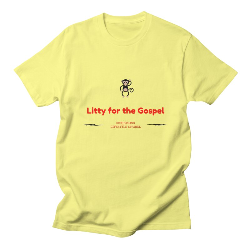 Litty For The Gospel 2 Men's T-Shirt by ChristGang Apparel