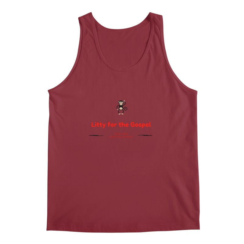 Litty For The Gospel 2 Men's Tank by ChristGang Apparel