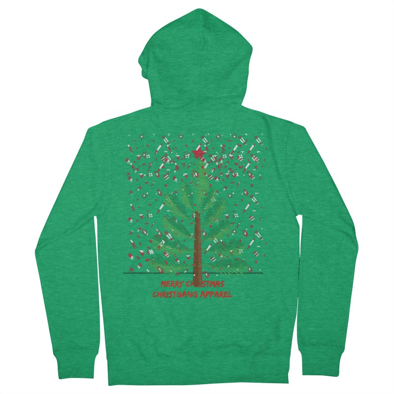 ChristGang Ugly Sweater Women's Zip-Up Hoody by ChristGang Apparel