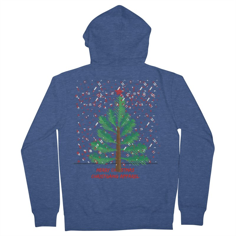 ChristGang Ugly Sweater Women's French Terry Zip-Up Hoody by ChristGang Apparel
