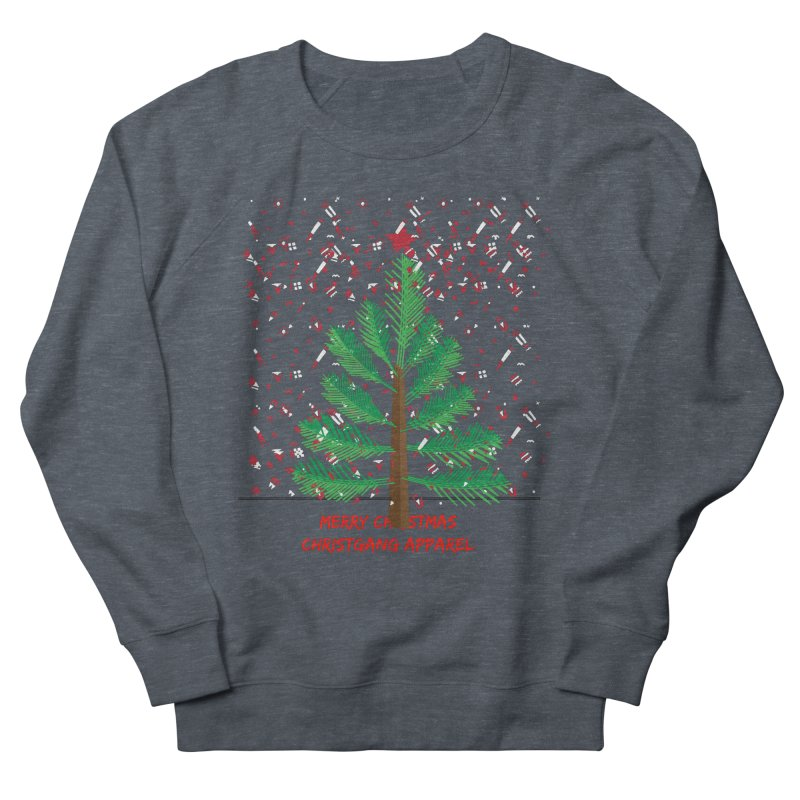 ChristGang Ugly Sweater Men's French Terry Sweatshirt by ChristGang Apparel