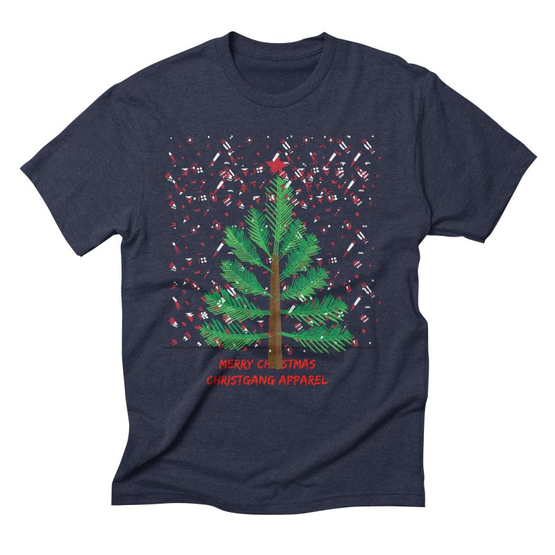 ChristGang Ugly Sweater Men's Triblend T-Shirt by ChristGang Apparel