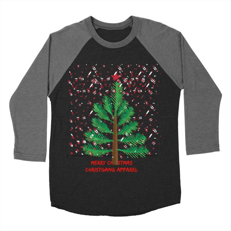 ChristGang Ugly Sweater Women's Baseball Triblend T-Shirt by ChristGang Apparel