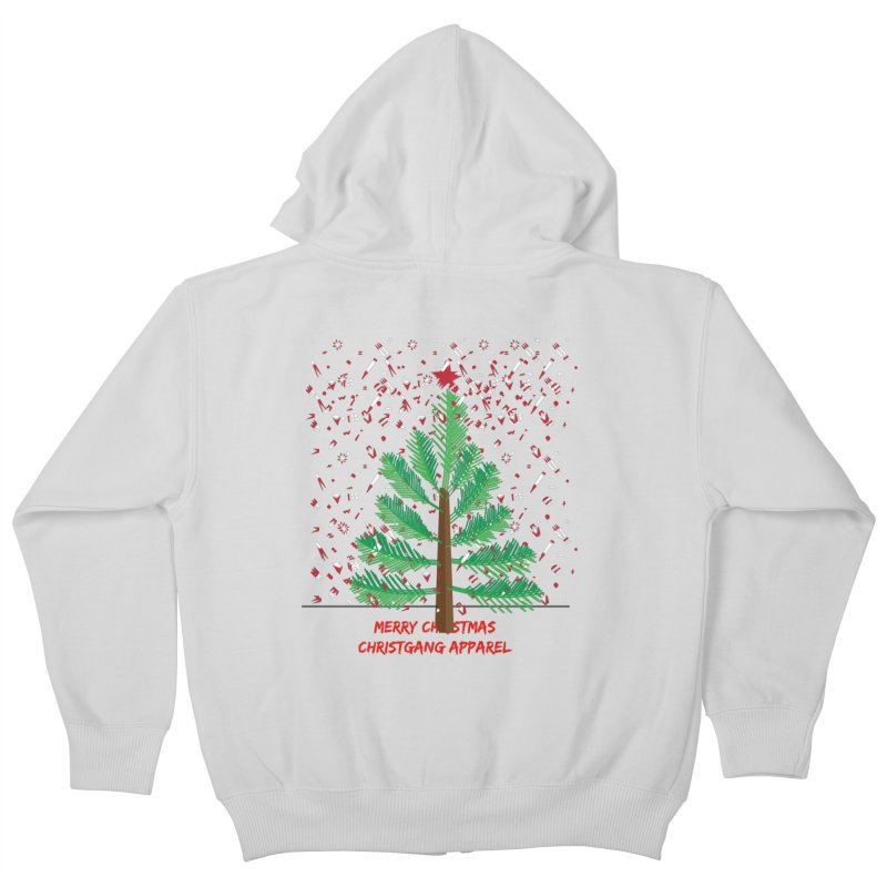 ChristGang Ugly Sweater Kids Zip-Up Hoody by ChristGang Apparel