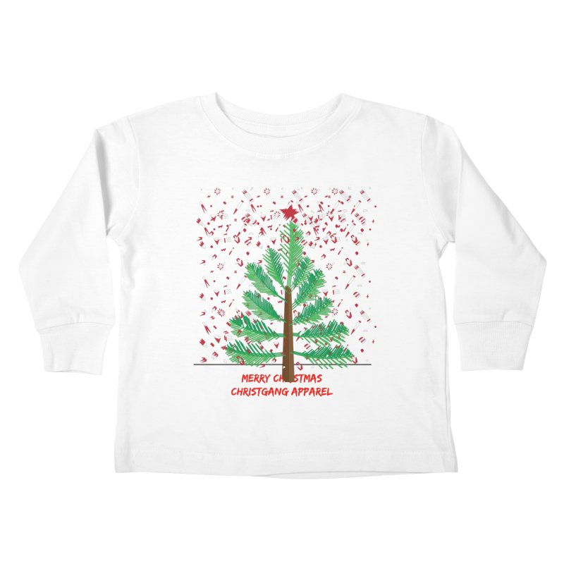 ChristGang Ugly Sweater Kids Toddler Longsleeve T-Shirt by ChristGang Apparel