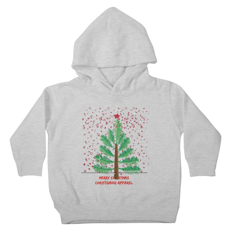ChristGang Ugly Sweater Kids Toddler Pullover Hoody by ChristGang Apparel