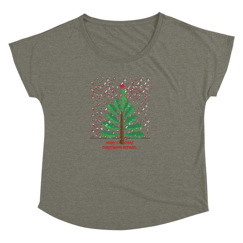 ChristGang Ugly Sweater Women's Dolman by ChristGang Apparel
