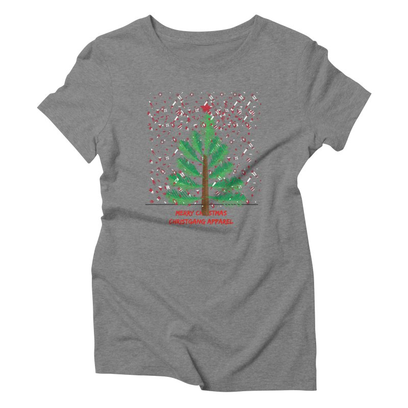 ChristGang Ugly Sweater Women's Triblend T-Shirt by ChristGang Apparel