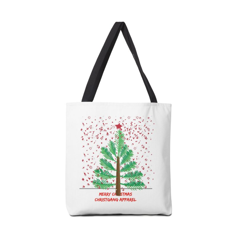 ChristGang Ugly Sweater Accessories Tote Bag Bag by ChristGang Apparel
