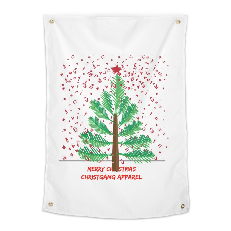 ChristGang Ugly Sweater Home Tapestry by ChristGang Apparel