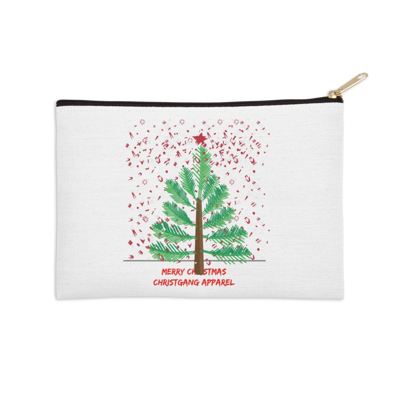 ChristGang Ugly Sweater Accessories Zip Pouch by ChristGang Apparel