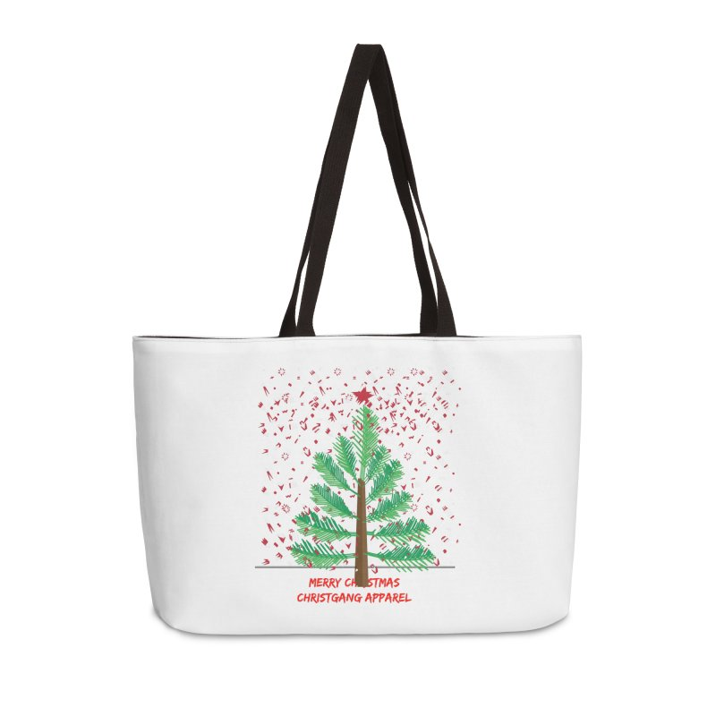 ChristGang Ugly Sweater Accessories Weekender Bag Bag by ChristGang Apparel