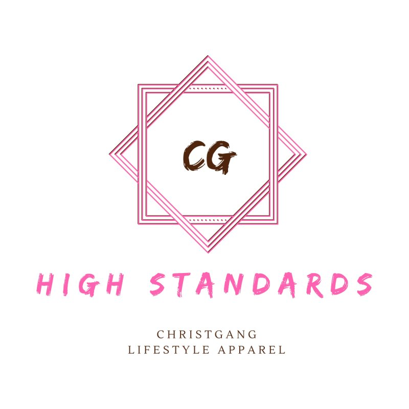 High Standards Men's Zip-Up Hoody by ChristGang Apparel