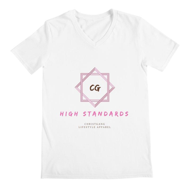 High Standards Men's V-Neck by ChristGang Apparel