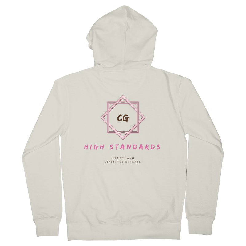 High Standards Men's French Terry Zip-Up Hoody by ChristGang Apparel