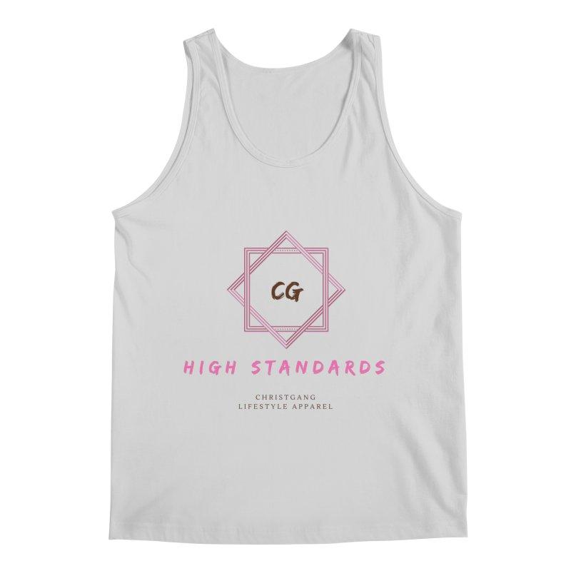 High Standards Men's Regular Tank by ChristGang Apparel