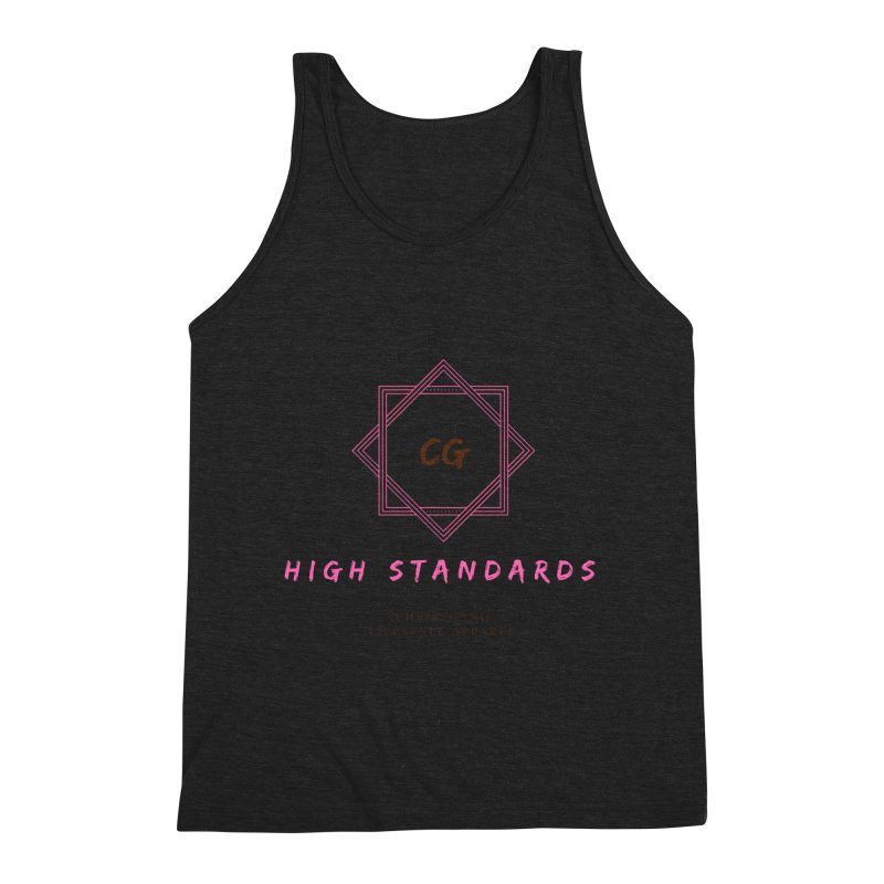 High Standards Men's Triblend Tank by ChristGang Apparel